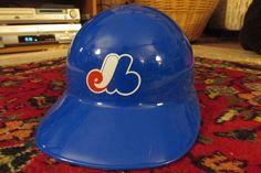 Vintage Montreal Expos Souvenir  Helmet 1990s MLB by TFSloan, $15.00