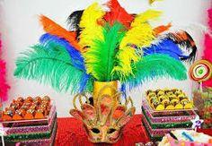 Resultado de imagem para decoração de carnaval
