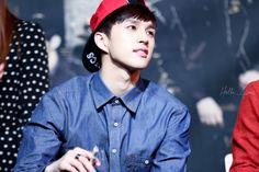 Ken and his red baseball cap.