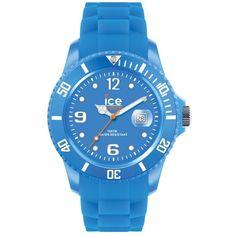ICE Watch 'Ice Flashy' Silicone Bracelet Watch, 43mm Blue $99
