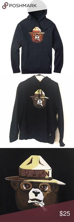 Burton Bearly Legal pullover hoodie Burton Bearly Legal pullover hoodie, lightly worn, still in amazing condition! Burton Jackets & Coats Ski & Snowboard