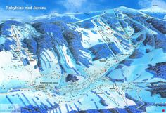 ❄⛷️ Updated Rokytnice Piste Map 2017/2018 - Click to see large version - #skiing