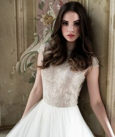 The latest bridal collection of Daalarna #wedding dresses. To see more: http://www.modwedding.com/2014/04/30