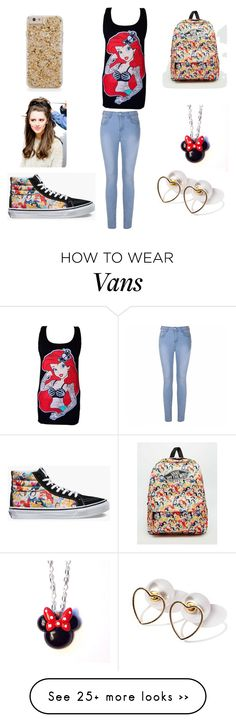 """Vans × Disney"" by victoria03806 on Polyvore featuring Vans, Ally Fashion and Disney"