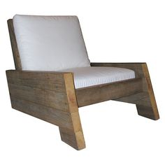 Cool chair, front view