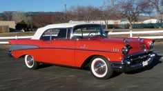 1957 Chevrolet Bel Air Convertible - (Chevrolet Motor Co. Detroit, Michigan  1911-present)