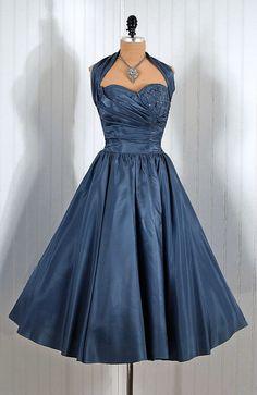 1950s Fred Perlberg dress