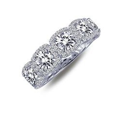 Lafonn Classic Cubic Zirconia Ring 205 CTTW >>> Learn more by visiting the image link.Note:It is affiliate link to Amazon.