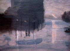 Port Melbourne at Night Clarice Beckett Nocturne, Oil Paintings, Landscape Paintings, Australian Artists, Art Auction, Art Market, Beautiful Paintings, Night Light, Photo Art