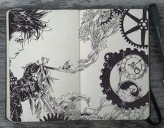 Moleskine-Art-by-Gabriel-Picolo-13                                                                                                                                                     Más