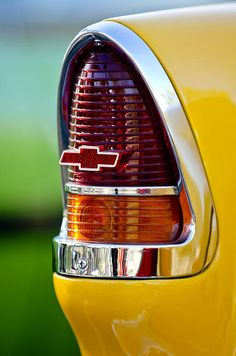 1955 Chevrolet Taillight Emblem Photograph by Jill Reger - 1955 Chevrolet Taillight Emblem Fine Art Prints and Posters for Sale