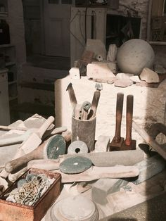 Barbara Hepworth studio, st Ives