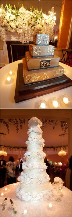 Our wedding and grooms cake!