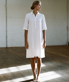 Linen Painting Dress | Ouur by Kinfolk