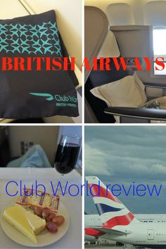 Idiosyncratic seating layout, but a winning amenities kit.  What is the British Airways Club World Business Class really like?