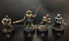 Cultistas del caos Space Marine, Marines, Tabletop, Snow Globes, Miniatures, Decor, Decoration, Table, Decorating