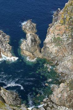 Foto de Isla de Faro, Islas Cies, Galicia, España - Vista desde el faro