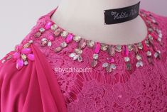 Kebaya, Kids Wear, Embroidery Designs, Sequins, Photo And Video, Detail, Choices, Beading, How To Wear