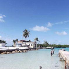 The Split. Caye Caulker, Belize.