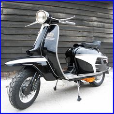 Lambretta the only one i ever wanted but with  round end race seat