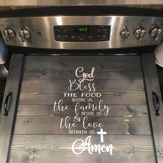 tammy whitfield added a photo of their purchase Stove Top Oven, Kitchen Stove, Kitchen Decor, Kitchen Ideas, Rustic Kitchen, Kitchen Design, Fridge Decor, Dining Decor, Kitchen Cabinets