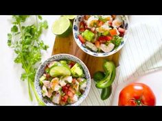 Zesty Lime Shrimp and Avocado Salad, talk about a light and refreshing salad that requires no cooking! Lime juice and cilantro are the key ingredients to