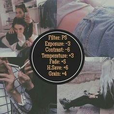 How to unlock Vsco Cam Tutorial, Tone Filter, VSCO Cam. All filters - community . Soft Grunge, Grunge Goth, Grunge Style, Grunge Teen, Vsco Photography, Photography Filters, Photography Editing, Feed Vsco, Fotografia Vsco