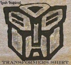Leah Inspired: DIY Transformers T-Shirt