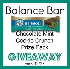 Celebrate Chocolate Covered Anything Day With Balance Bar + GIVEAWAY