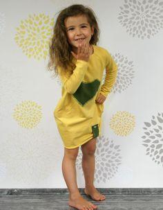 Sukienka CRUDO miodowa | De Luzz | SHOWROOM Kids