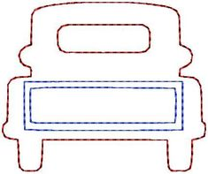 Grand Sewing Embroidery Designs At Home Ideas. Beauteous Finished Sewing Embroidery Designs At Home Ideas. Chevy Trucks Older, Old Trucks, Pickup Trucks, Lifted Trucks, Pickup Camper, Dually Trucks, Jeep Pickup, Truck Camper, Applique Patterns