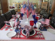 Fiesta® Election 2016 Tablescape: Like it or not - it has been one big roller coaster ride this election year | The Welcomed Guest