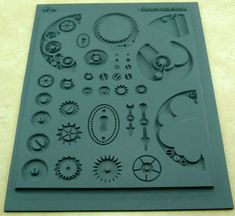 Just bought this, now I just have to buy metal clay. Lisa Pavelka Rubber Stamp INNIE Steampunk Watch and Gear Mold 27250 Steampunk Crafts, Steampunk Watch, Steampunk Gears, Steampunk Cosplay, Steampunk Design, Steam Punk Diy, Metal Clay, Buy Metal, Steampunk Accessoires