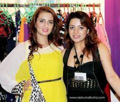 Designer Farah Sanjana at Numaish