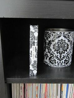 Recycled VHS Case To Memory Box from Sew Many Ways