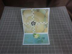 Easel card by Raz & Dazzle Ink