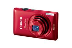 Canon PowerShot ELPH 300 HS Red Refurbished | Canon Online Store