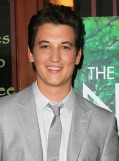 Miles Teller - love him! I also find it quite weird that some guy that I like, actually looks like him in ways, some would call me lucky ...