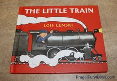 Activity for The Little Train by Lois Lenski:  Train Signal Running Game