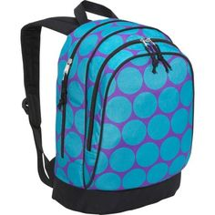 Wildkin Ashley Collection Big Dots Sidekick Backpack « Clothing Impulse
