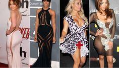 celebrities who don't wear underwear