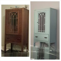 Plaster of paris chalk paint... my new obsession