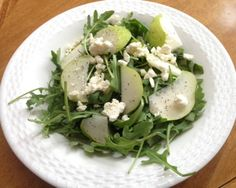 Peppered Pear Arugula Salad with Lemon VinaigretteSalad Recipes - Professional Nutrition Consulting