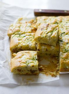 the ultimate zucchini slice | theclevercarrot.com