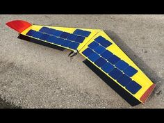 SOLAR powered Plane / Drone / FPV / Build / RC Aircraft - YouTube