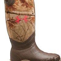 Cabela's: Under Armour® Women's H.A.W. 800-Gram Rubber Boots – Realtree AP™