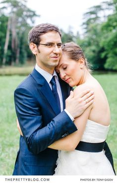Navy blue grooms suit with white strapless wedding dress and black ribbon Navy Blue Groom, Palace Garden, Romantic Moments, Black Ribbon, Groom And Groomsmen, Getting Married, Homecoming, Wedding Planning, Wedding Inspiration