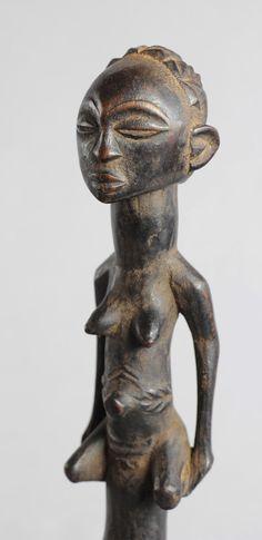 Rare Superbe Hache Luba Congo Baluba AXE ART Africain Tribal Premiers | eBay