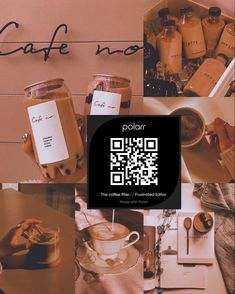 Free Photo Filters, Youtube Editing, Aesthetic Filter, Aesthetic Coffee, Photography Filters, Afterlight, Lightroom Tutorial, Coffee Filters, Qr Codes