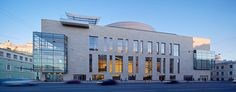 New Mariinsky Theatre in Saint Petersburg, Russia by Diamond Schmitt Architects